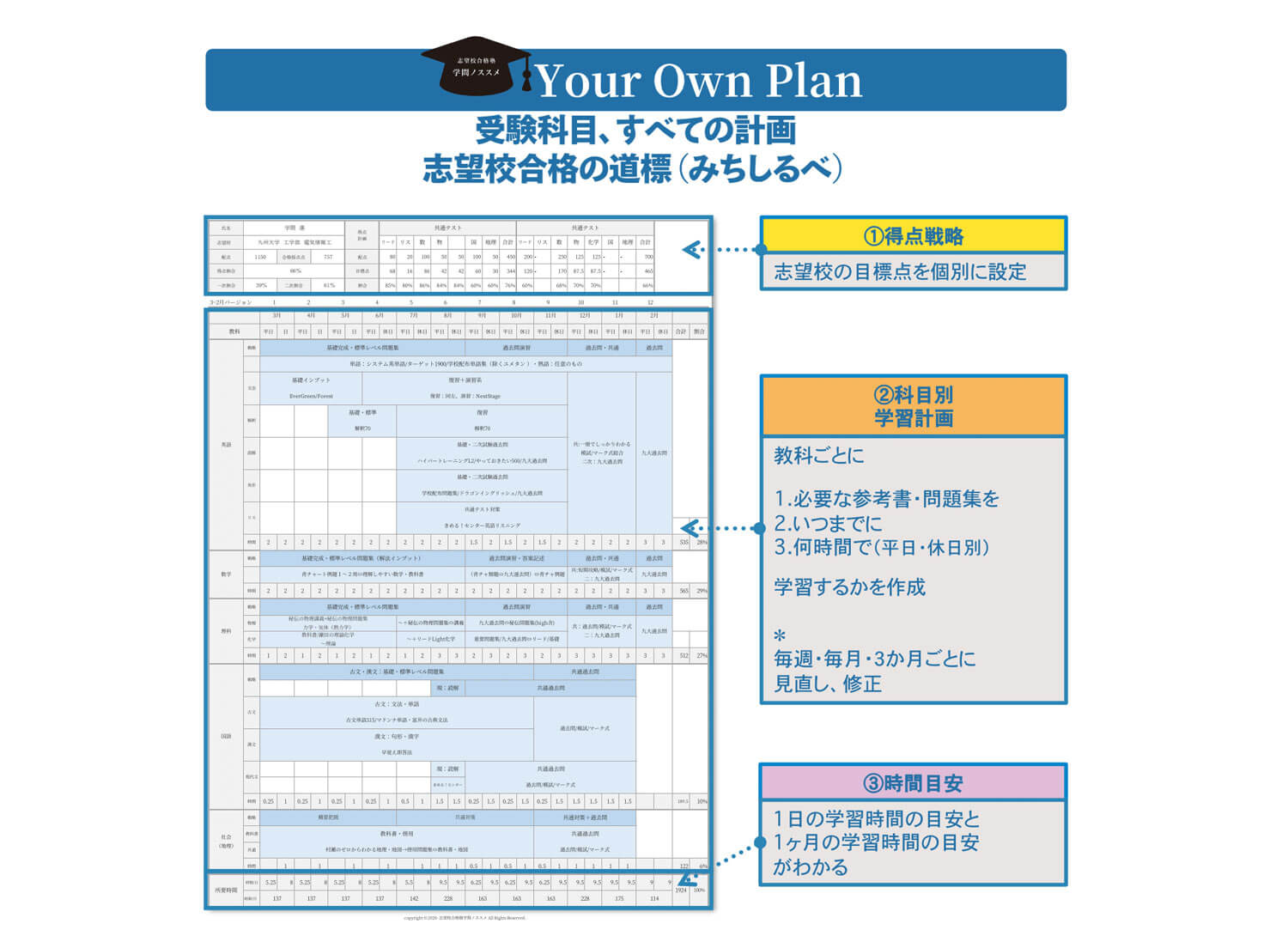 Your Own Plan レポート